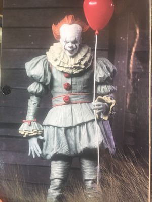 Pennywise from 'It' Action Figure (have 2 of them, both brand new in box) for Sale in Scottsdale, AZ