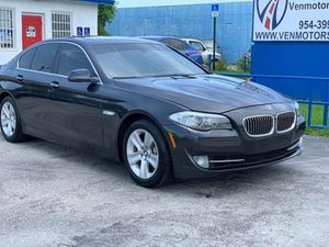 2013 BMW 5 Series for Sale in Pembroke Park, FL