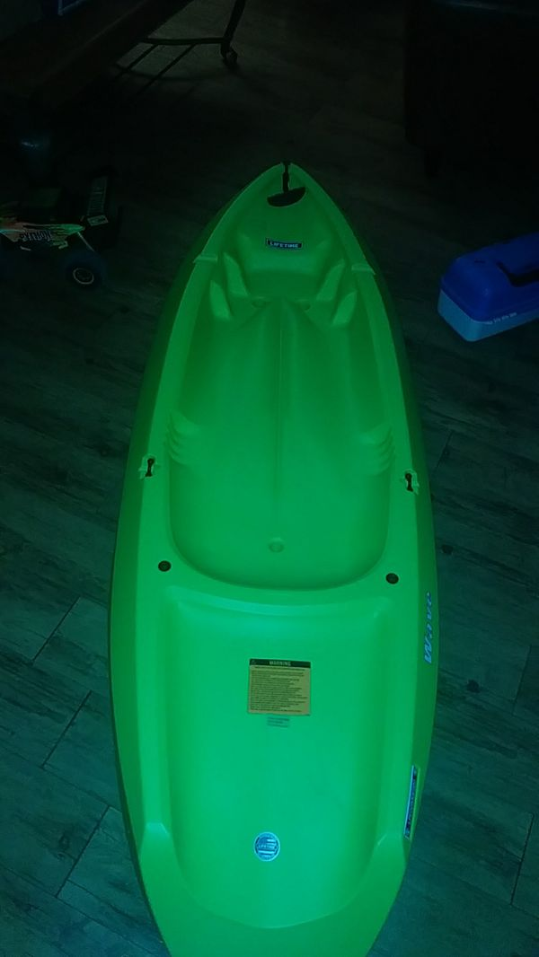life time kayak 6 foot kayak no paddle