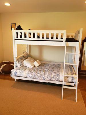Bunk Bed - Double Bottom Bunk, Twin Top Bunk for Sale in University, VA