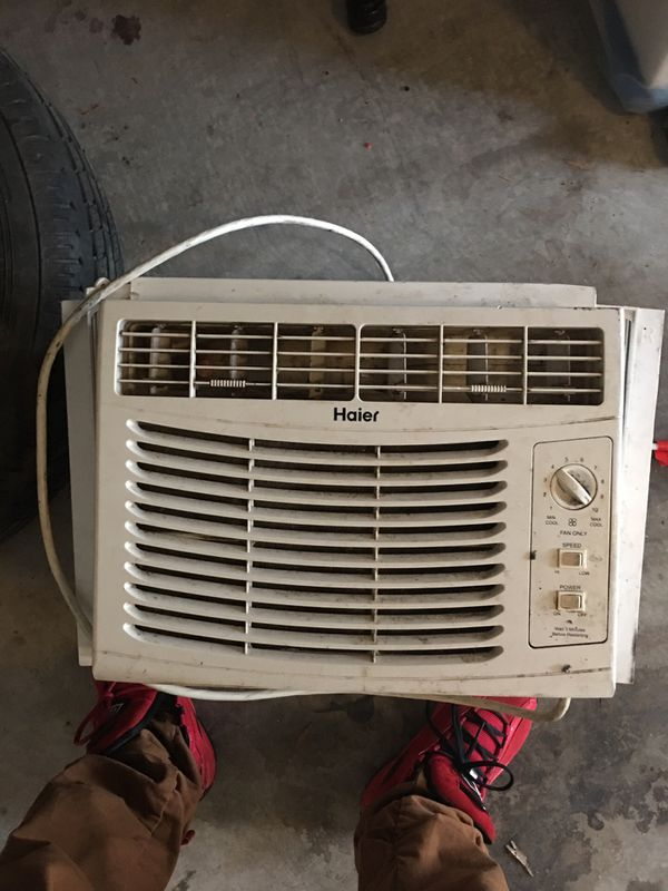 Haier window a/c work perfect 60 obo