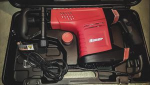 Bauer 12.5 Amp SDS Max Type Pro Demolition Hammer Kit for Sale in Tracy, CA
