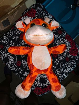 Brand new orange giraffe plush for Sale in Sacramento, CA