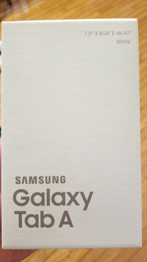 Samsung Galaxy Tab A for Sale in West Springfield, VA