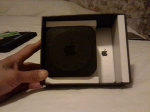 Apple TV. 64 GB. Compatible with high def TV's w/ HDMI wifi,Bluetooth 4.0 Ethernet etc, for Sale in Fresno, CA
