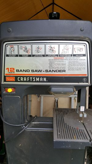 "12"" Band Saw-Sander for Sale in Puyallup, WA"