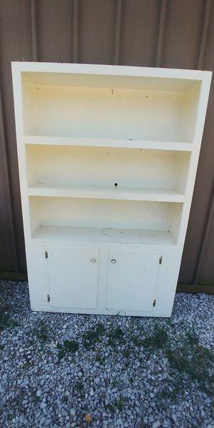 Farmhouse style shelf w/cabinet for Sale in Hendersonville, TN