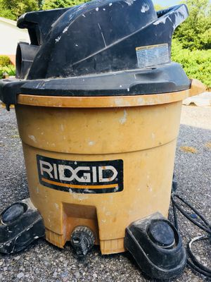 RIDGID Vacuum Cleaner 12 Gal. 5.0-Peak HP Wet Dry for Sale in Baltimore, MD