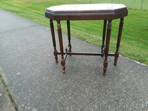 Antique Entryway Table for Sale in Everett, WA