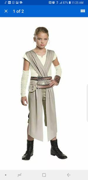 Rey star wars child disney costume for halloween size small girls for Sale in Alexandria, VA