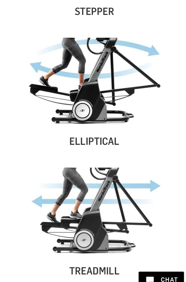 NordicTrack Elliptical, 3 in 1