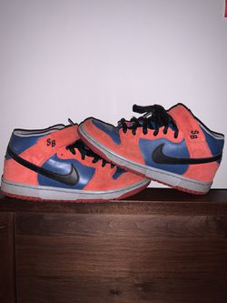 Spider-man nike dunk mid for Sale in Durham,  NC