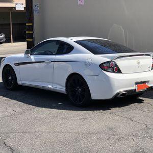 2007 White Hyundai Tiburon GT for Sale in West Covina, CA