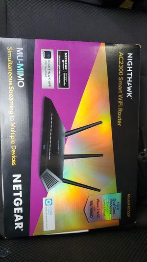 netgear nighthawk ac2300 wifi router for Sale in Whittier, CA