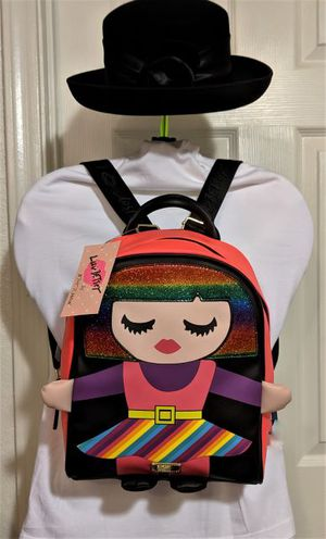 ** NEW BETSEY JOHNSON BACKPACK * BOOKS * MSRP $88 * PURSE * TRAVEL * CHILDREN * TEEN * SCHOOL * LUV BETSEY * KIDS * PARTY * GIFT * CLOTHES * GAMES ** for Sale in Phoenix, AZ
