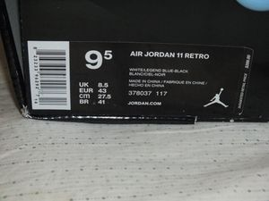 Air Jordan Columbia 11s size 9.5 never worn for Sale in Baltimore, MD