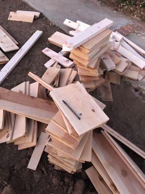 Pieces cedar wood free for Sale in El Cajon, CA