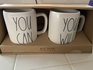 Rae Dunn Set - You Can & You Will $25 for Sale in Bakersfield, CA