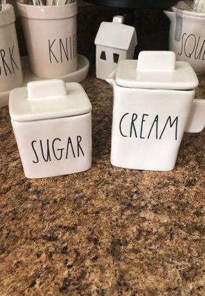 New! Rae Dunn cream & sugar set UFT/UFS for Sale in Riverside, CA