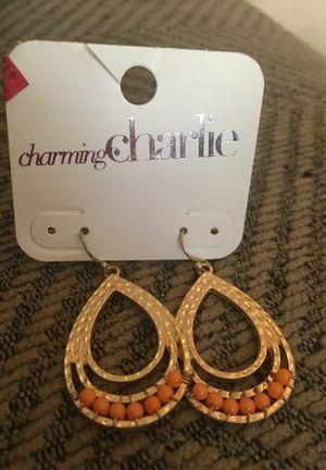 Moroccan Muse Orange Earrings for Sale in Clovis, CA