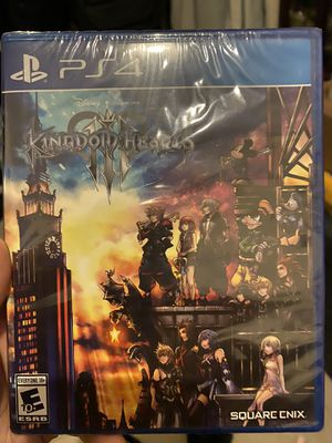 Ps4 Kingdom Hearts 3 Brand new sealed for Sale in SUNNY ISL BCH, FL