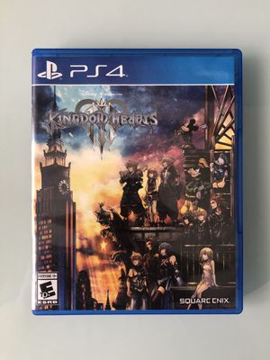 Ps4 Kingdom Hearts 3 for Sale in Escondido, CA