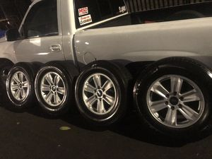 2019 ford 6 lugs rims and tires for Sale in Los Angeles, CA