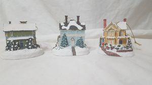 Thomas Kinkade Christmas Ornaments 3 for Sale in Phoenix, AZ