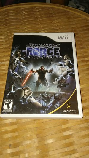 Star Wars: Force Unleashed(Wii)..Mint for Sale in Inverness, FL