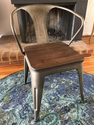 Industrial Chic Dining Chairs (set of 4) for Sale in Washington, DC