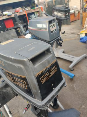 Suzuki 9.9 and Yamaha 9.9 outboard Mercury 4 hp outboard motors for Sale in Oceanside, CA