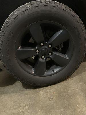 "20"" Dodge Ram 1500 stock rims/tires for Sale in Newark, OH"