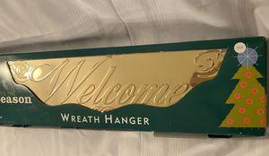New Door Topper Wreath Hanger for Sale in Kirkland, WA