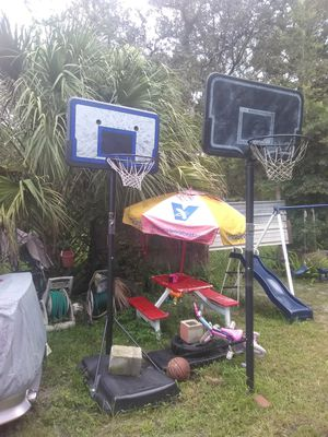 2 BASKETBALL HOOPS 55.00 EACH for Sale in Tampa, FL