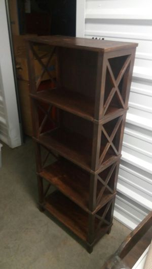Wood bookshelves from India for Sale in Dallas, TX