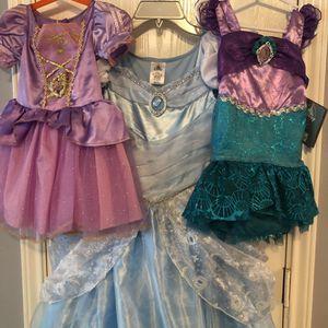 Princess costumes Rapunzel Cinderella for Sale in Houston, TX