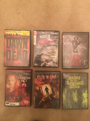 Horror movie dvds set for Sale in MONTGOMRY VLG, MD