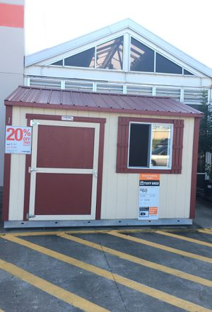 576 Tuff Shed display TR700 10x12 was $3,797 Now $3,038 for Sale in Humble, TX