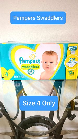( Please Read Description ) Pampers Swaddlers Size 4 for Sale in Alafaya, FL