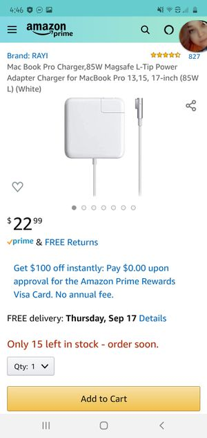 MacBook Charger for Sale in Bloomington, IN