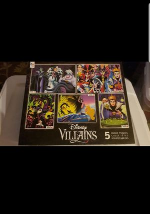 Disney villains puzzle for Sale in Federal Way, WA