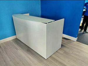 Glass Top Reception Desk for Sale in Hialeah, FL