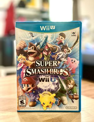 Super Smash Bros. for Wii U Nintendo for Sale in San Jose, CA