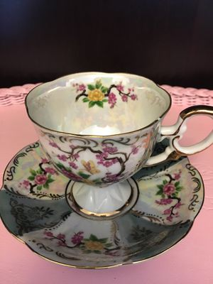 Royal Halsey LM Very Fine (Japan) vintage tea cup and saucer for Sale in Cornelius, OR