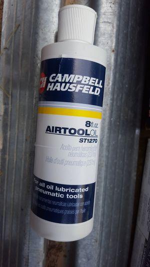 Campbell Hausfeld Air Tool Oil for Sale in Crocker, MO