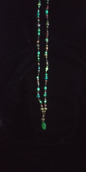 Long multi colored beaded necklace for Sale in Oxnard, CA