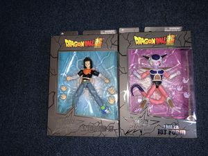 Dragon Ball Super Dragon Stars Android 17 & Frieza First Form for Sale in Los Angeles, CA