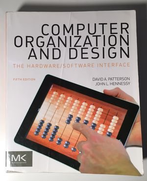 Computer Organization and Design - 5th edition for Sale in Tempe, AZ