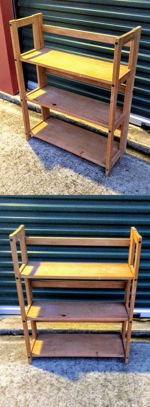 Foldable Wooden Shoe Rack for Sale in Durham, NC