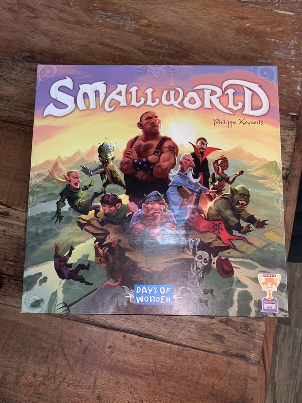 Small world days of wonder board game